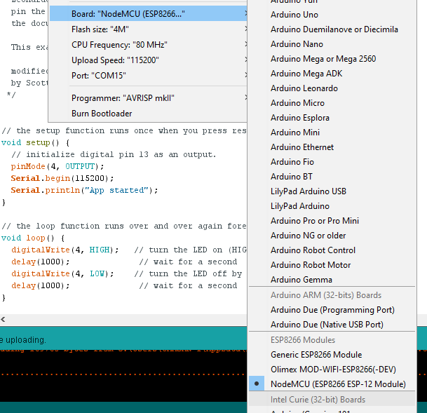 NodeMCU_With_Arduino_IDE