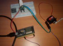 network servo using esp32